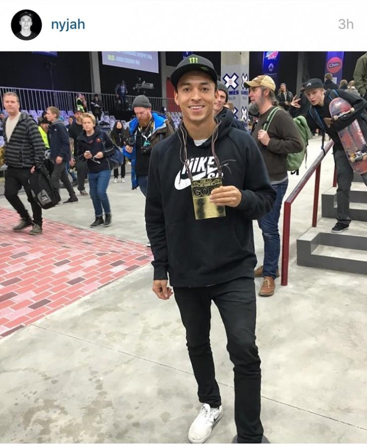 Nyjah Huston 4-Peat at X-Games Oslo – The Lion's Roar