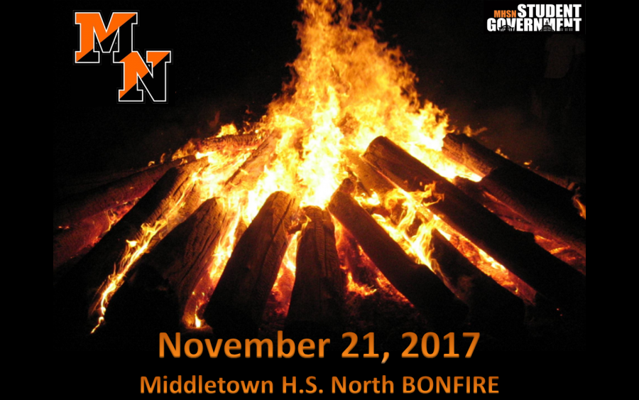 Middletown North Set To Host Bonfire During Thanksgiving Week