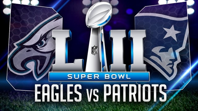 Image result for New England Patriots vs Philadelphia Eagles