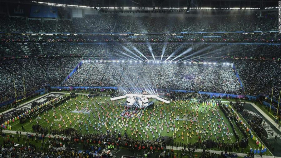 Singer+Justin+Timberlake+performs+during+the+halftime+show+of+Super+Bowl+LII+at+US+Bank+Stadium+in+Minneapolis%2C+Minnesota%2C+on+February+4%2C+2018.+%2F+AFP+PHOTO+%2F+ANGELA+WEISS