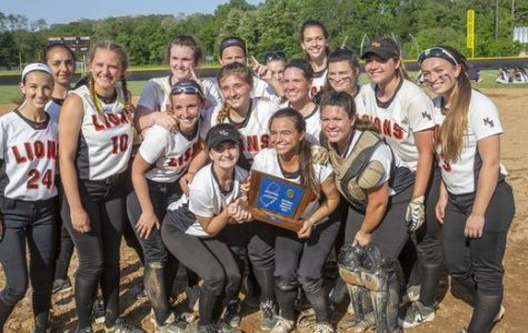 Lady Lions Softball Team Wins State Sectional Title