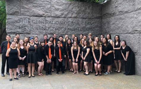 Band and Choir Travel to Virginia
