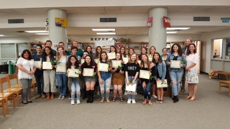 National Honor Society Welcomes Juniors and Says Farewell to Seniors