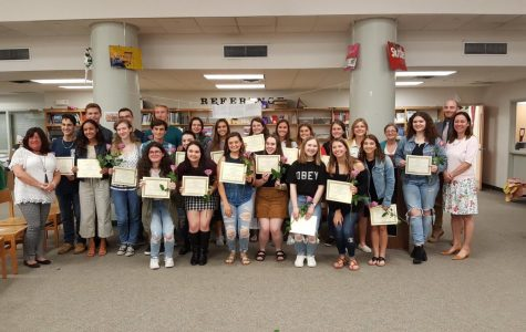 National English Honor Society Induction