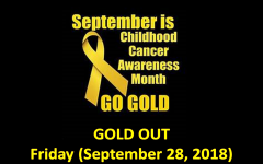 Middletown North's #GOLDOUT Unites Against Pediatric Cancer