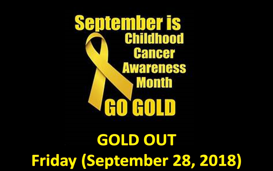 Middletown+North%27s+%23GOLDOUT+Unites+Against+Pediatric+Cancer