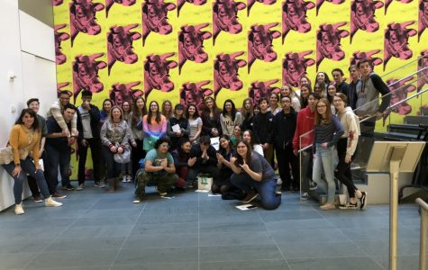 Middletown North Students Visit Museum of Modern Art