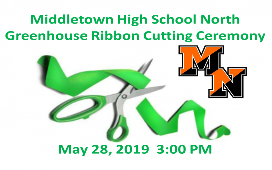 Middletown High School North Celebrates New Greenhouse with Ceremony