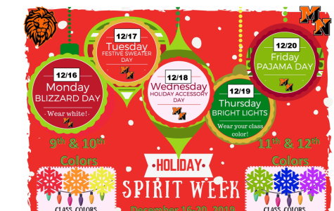 Holiday Spirit Week Comes to MHSN