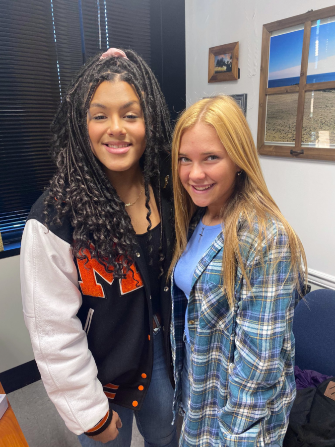 Sophomores Peyton Benbrook and Jada McKnight to Represent MHSN at HOBY Conference