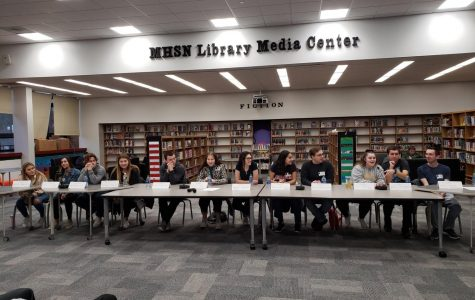 Former MHSN Students Host Panel Discussion with STEM Pathway Students