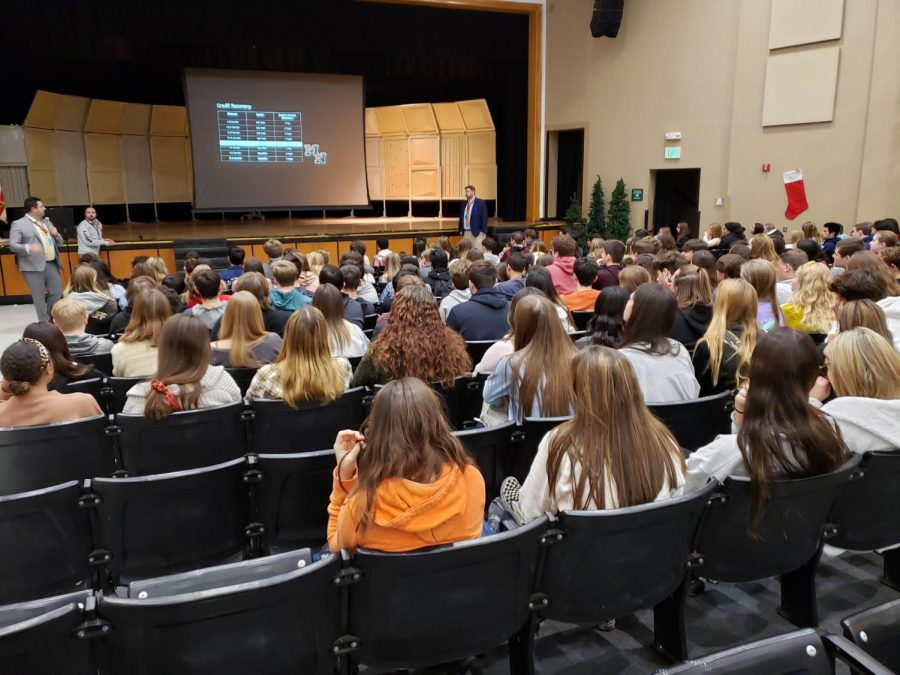 Students+listen+attentively+in+the+auditorium+to+updates+provided+by+administration.
