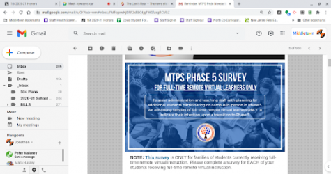 MTPS Phase 5 Survey Request Deadline Tonight