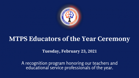 MTPS Celebrates Its 2020-21 Educators of the Year
