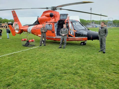 United States Coast Guard Visits MHSN