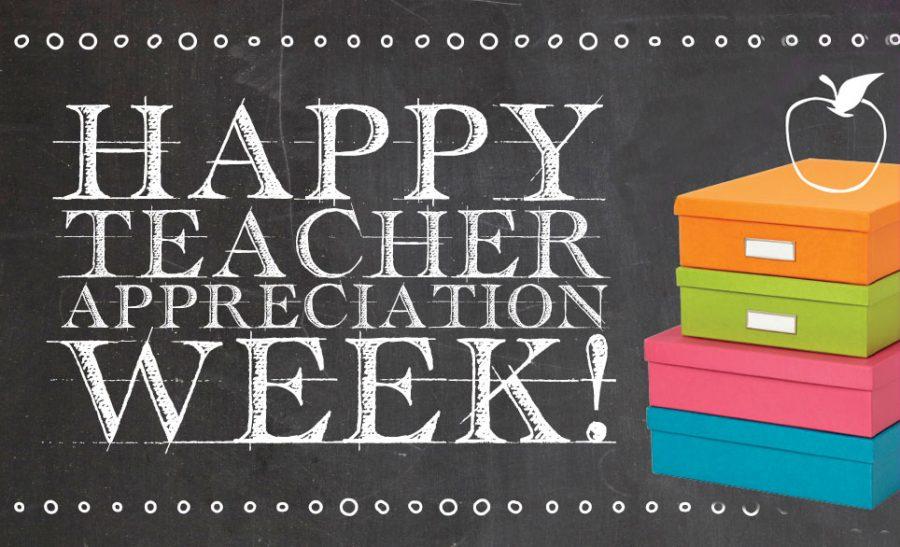 First Week of May Kicks Off Teacher Appreciation Week