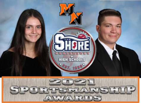 Olivia Kelty & Nico Cerbo are Recognized as 2021 Shore Conference Sportsmanship Recipients